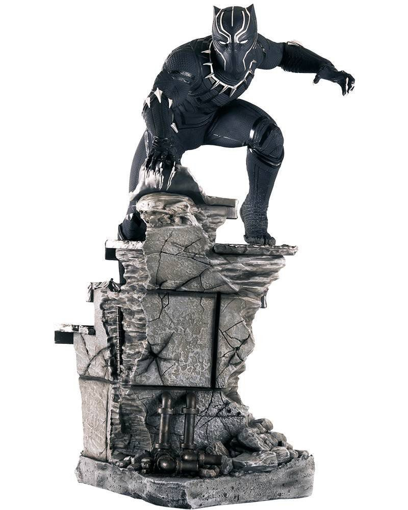 Estátua Pantera Negra (Black Panther): Guerra Civil Legacy Replica Escala 1/4 - Iron Studios - CD
