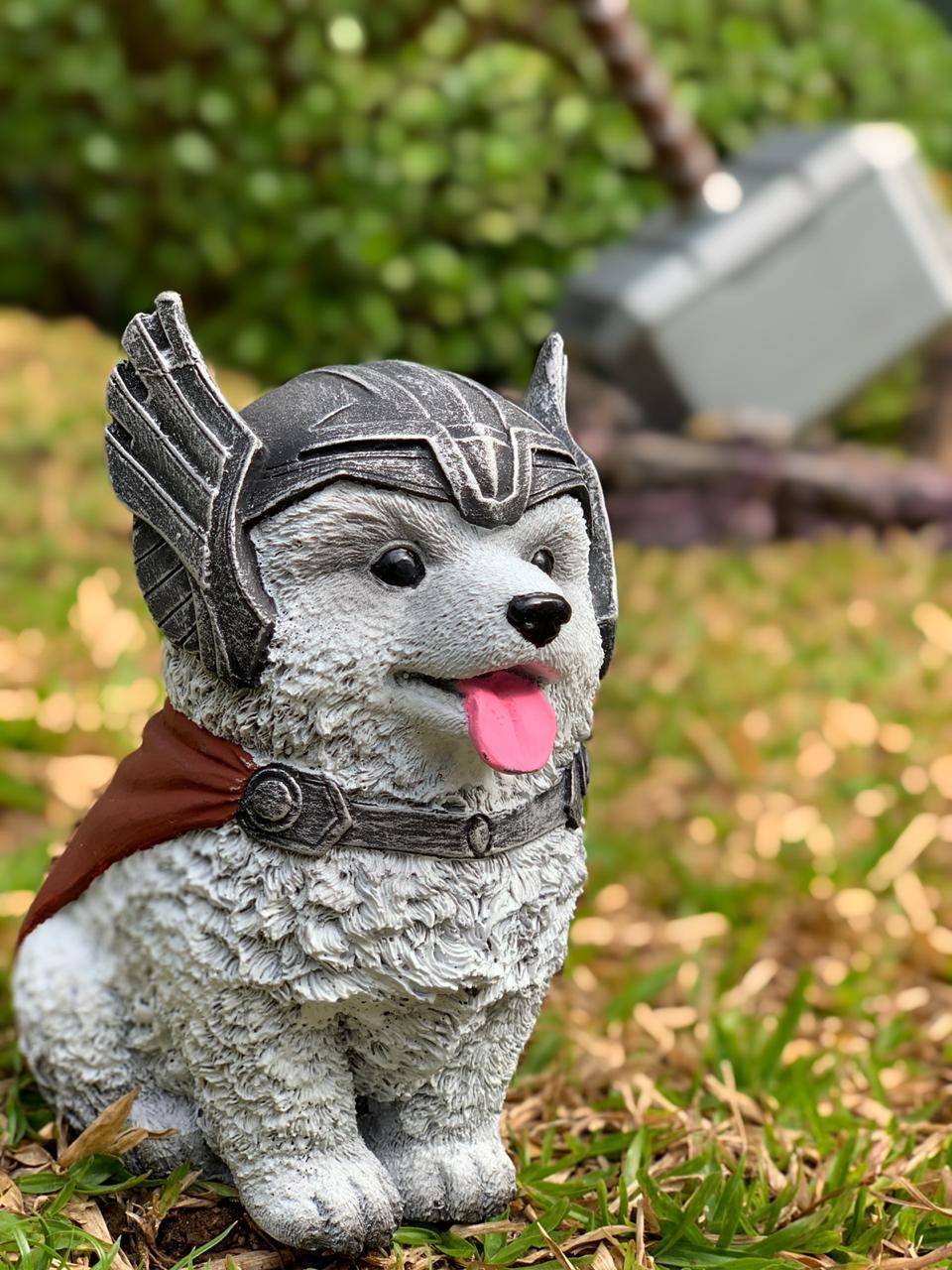 Estátua Pet Heroes Thor: Vingadores (Avengers)