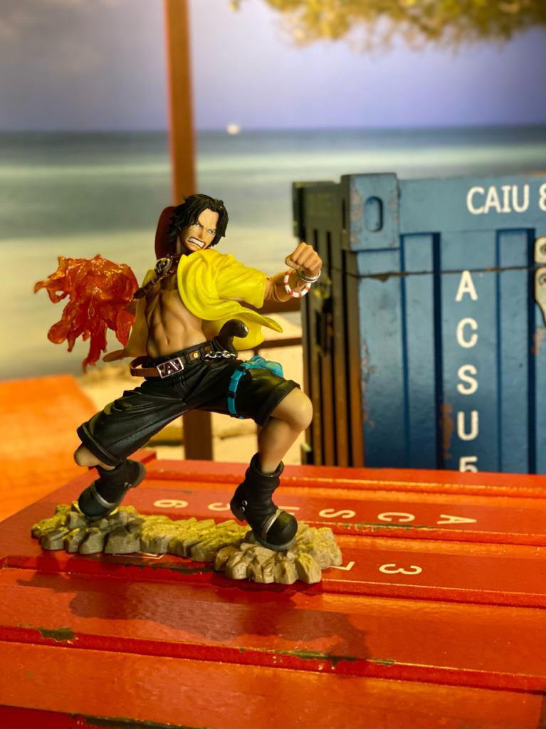 Estátua Portgas D.Ace (20th): One Piece - Banpresto