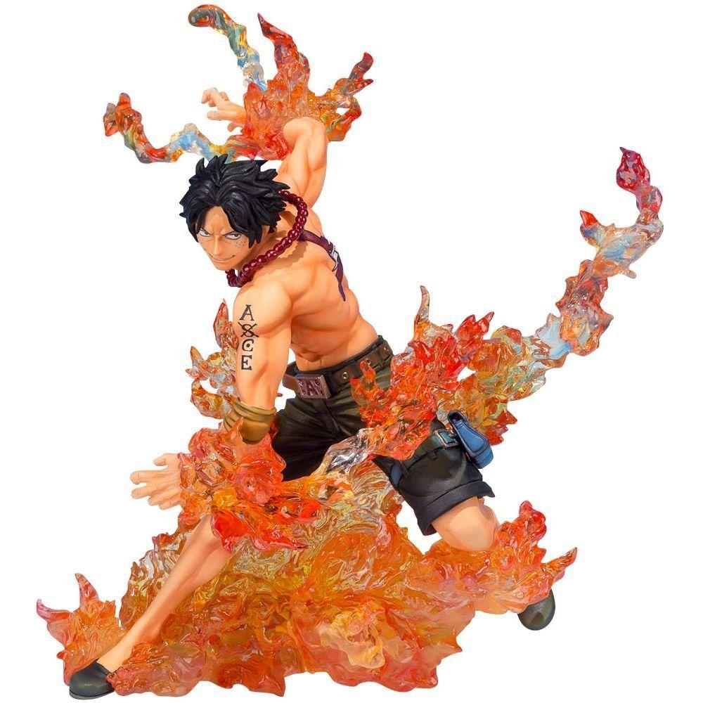 Estátua Portgas D. Ace: One Piece Brother's Bond (FiguartsZERO) - Bandai - CD