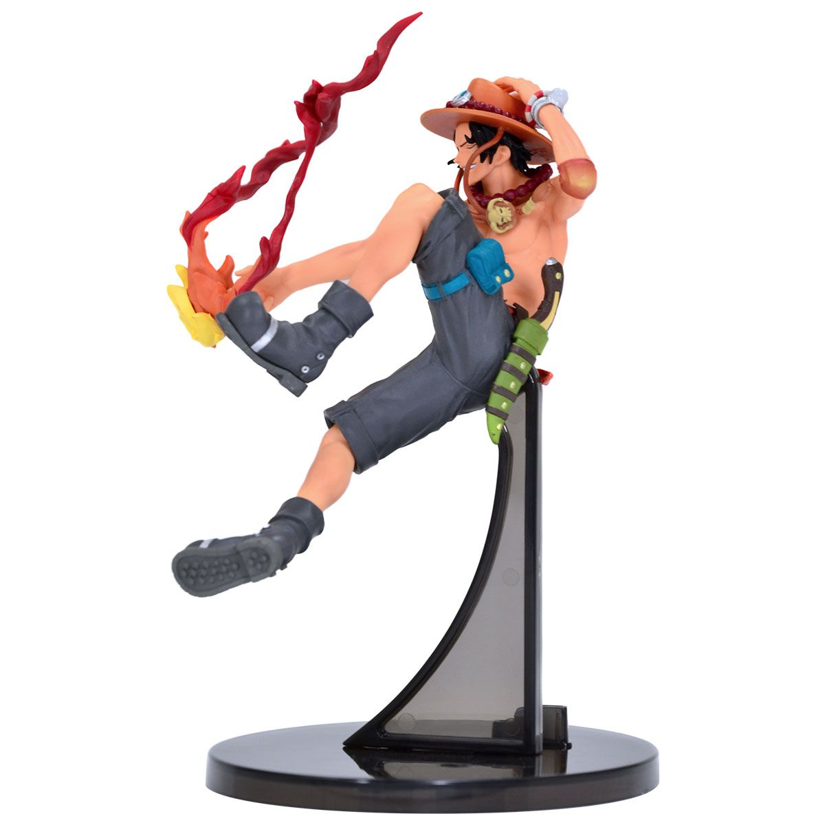 Estátua Portgas D.Ace (Sculture): One Piece - Banpresto