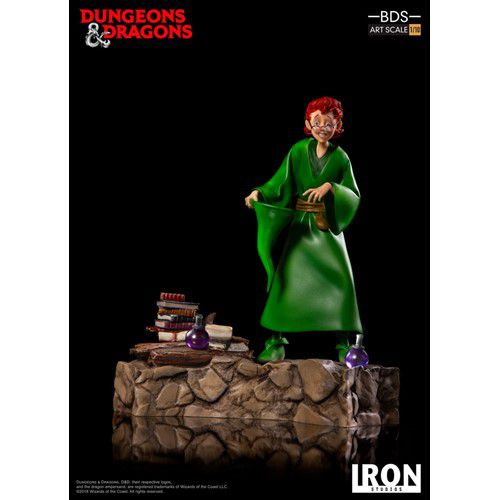 Estátua Presto (O Mago): Caverna do Dragão (Dungeons & Dragons) (BDS Art) (Escala 1/10) - Iron Studios