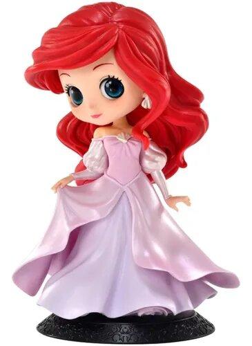 Estátua Princesa Ariel Vestido Rosa (Pink Dress) : A Pequena Sereia Disney Qposket - Banpresto