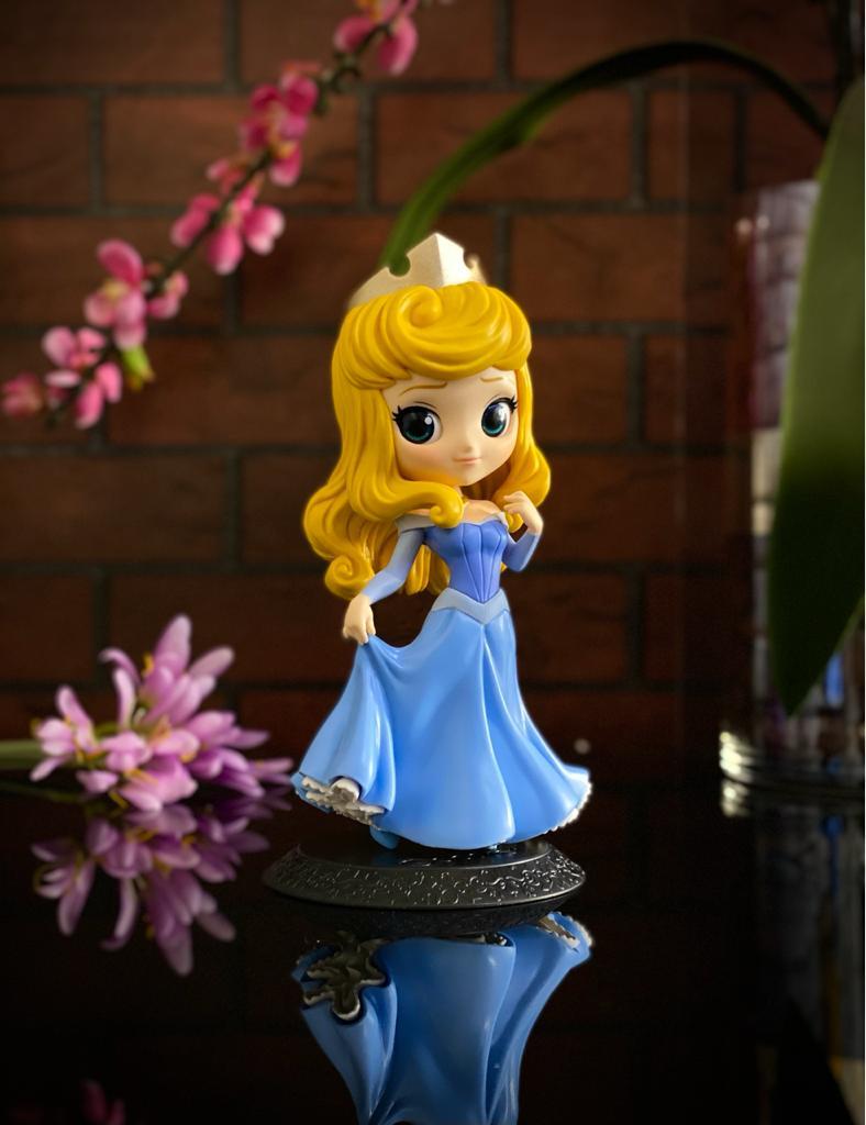 Estátua Princesa Aurora: Bela Adormecida Disney Qposket - Banpresto