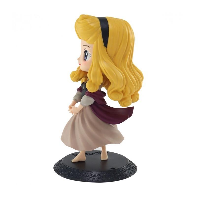 """Estátua Princesa Aurora: Bela Adormecida Disney Qposket """"Briar Rose"""" - Banpresto Bandai"""