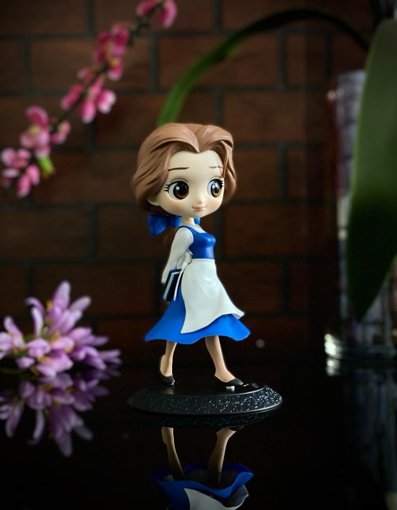 Estátua Princesa Bela (Country Style): Bela e a Fera Disney Qposket - Banpresto
