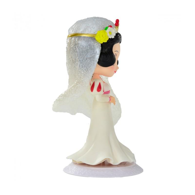 Estátua Princesa Branca De Neve (Noiva): Branca De Neve Disney Qposket - Banpresto