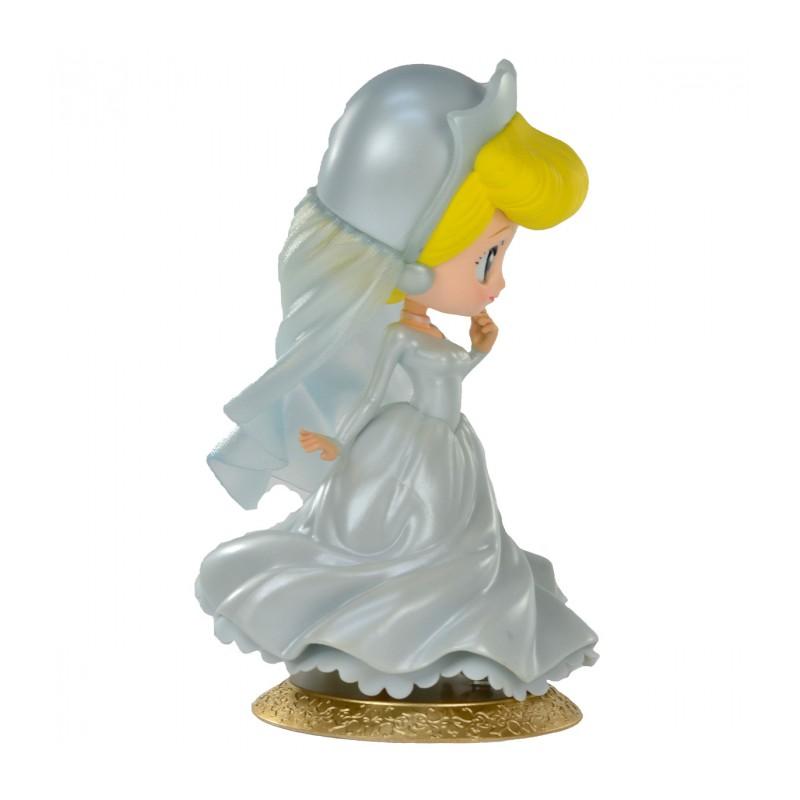 Estátua Princesa Cinderela (Noiva): Cinderela Disney Qposket - Banpresto