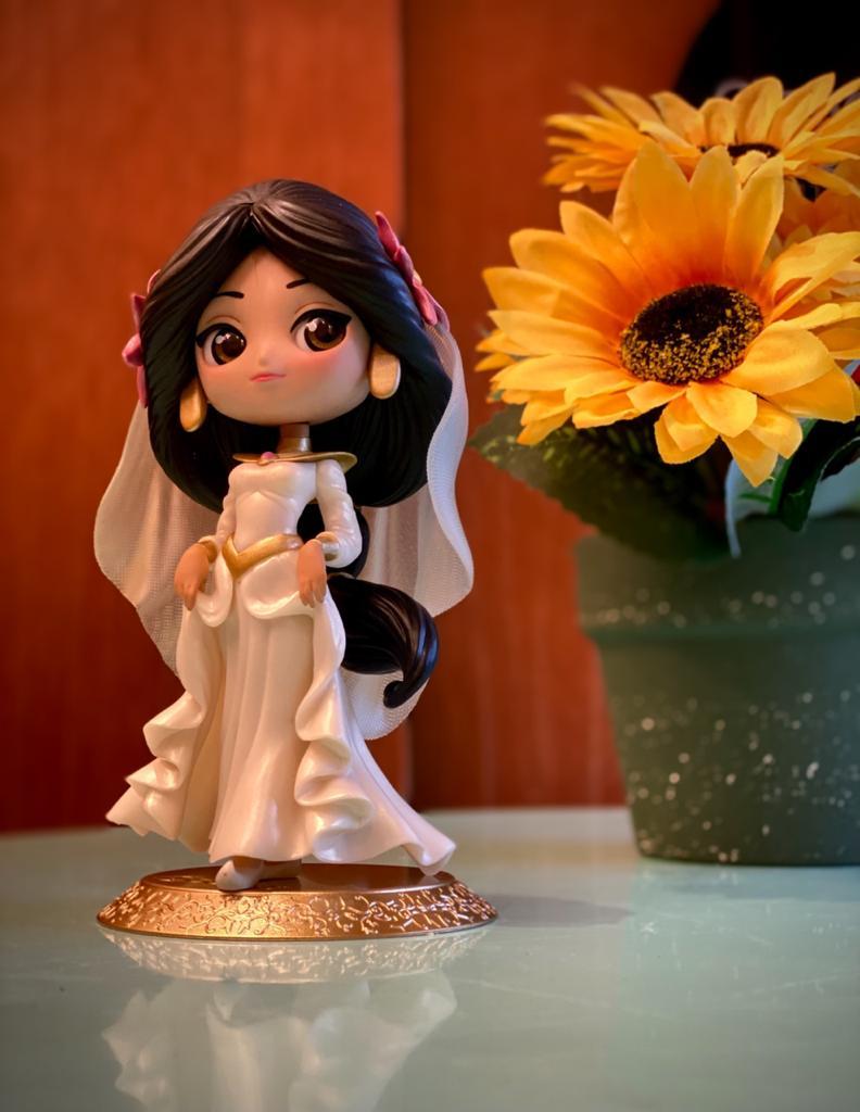 Estátua Princesa Jasmine (Dreamy Style Special Collection): Aladdin Disney Qposket - Banpresto Bandai