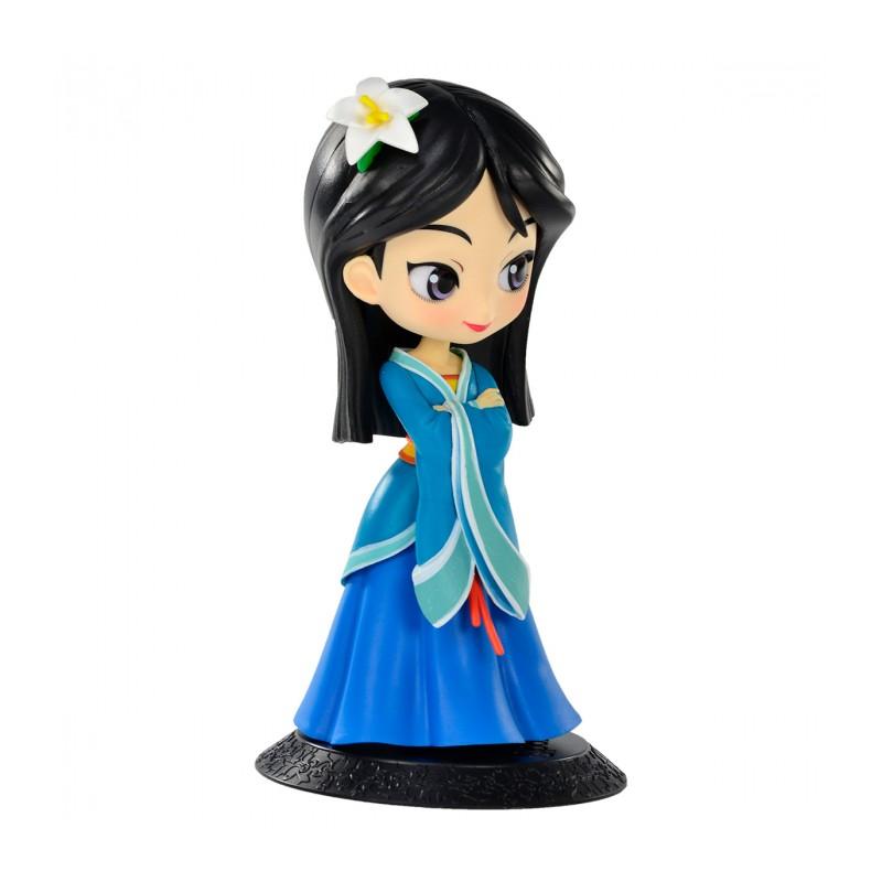 Estátua Princesa Mulan (Royal Style): Mulan Disney Qposket - Banpresto