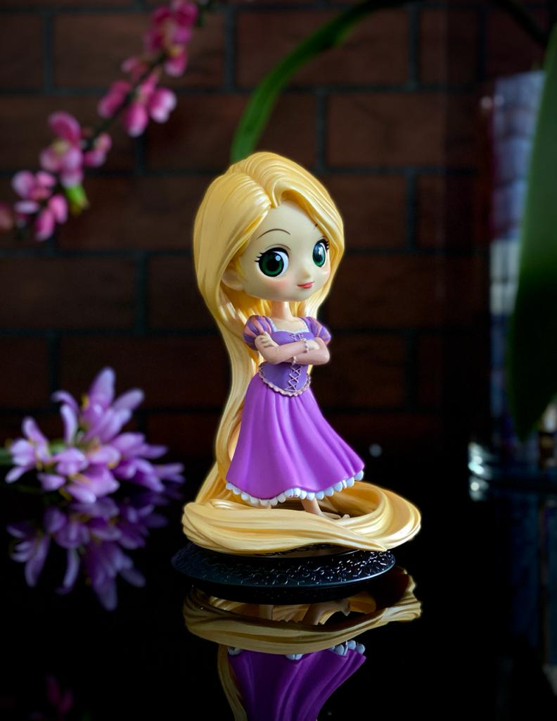 Estátua Princesa Rapunzel: Enrolados Disney Qposket - Banpresto