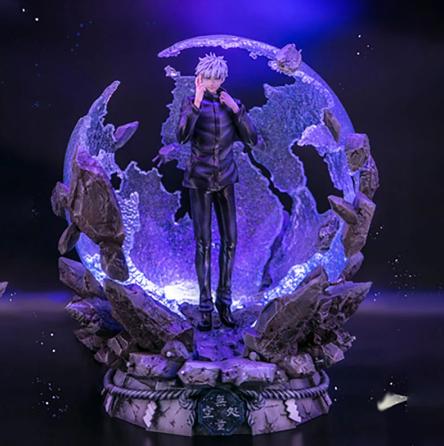 Estátua Réplica Colecionável Satoru Gojo: Jujutsu Kaisen Escala 1/6 - Anime Mangá - MKP