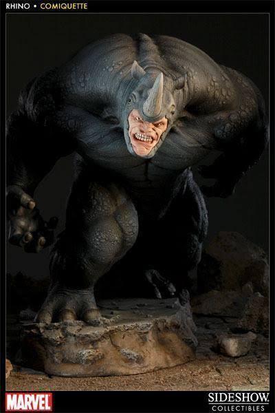 Estátua Rhino: Marvel Comiquette - Sideshow