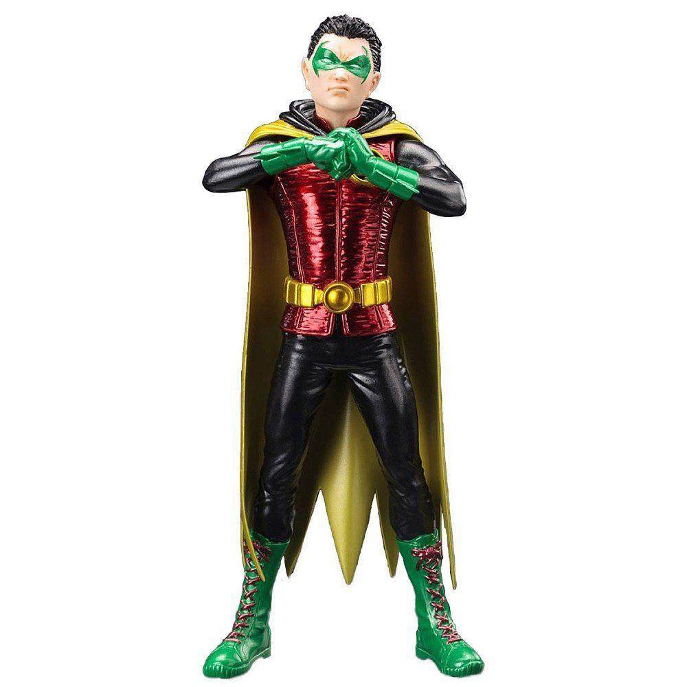 Estátua Robin Damian Wayne: DC Comics Os Novos 52 (New 52) Artfx+ Statue Escala 1/10 - Kotobukiya