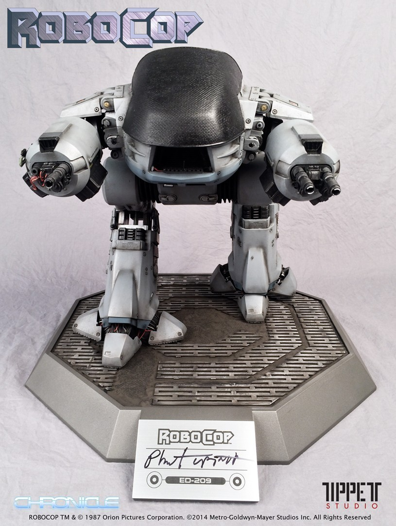 Estátua Robocop ED-209 Signed Prop Réplica - Chronicle Collectibles - CD