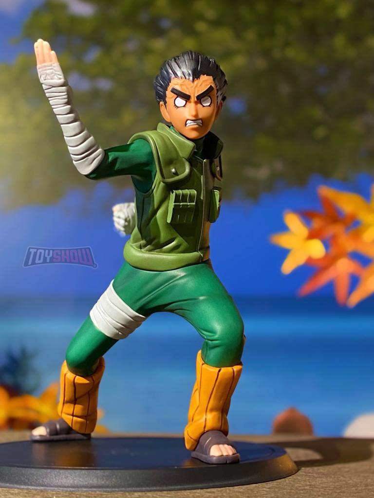 Estátua: Rock Lee - Xtra Figures (Naruto Shippuden) - Banpresto