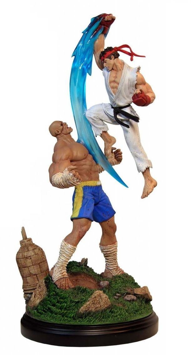 Estátua Ryu Vs Sagat (Diorama): Super Street Fighter II - Pop Culture Shock