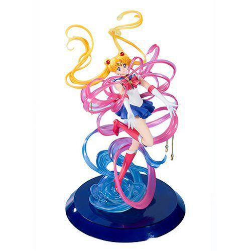 Estátua Sailor Moon: Sailor Moon Poder do Cristal da Lua (Moon Crystal Power) FiguartsZERO (Chouette) - Bandai Tamashii