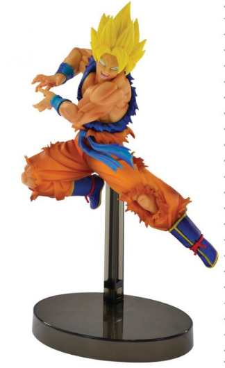 Estátua Saiyan God Goku (Z Battle): Dragon Ball Super - Banpresto
