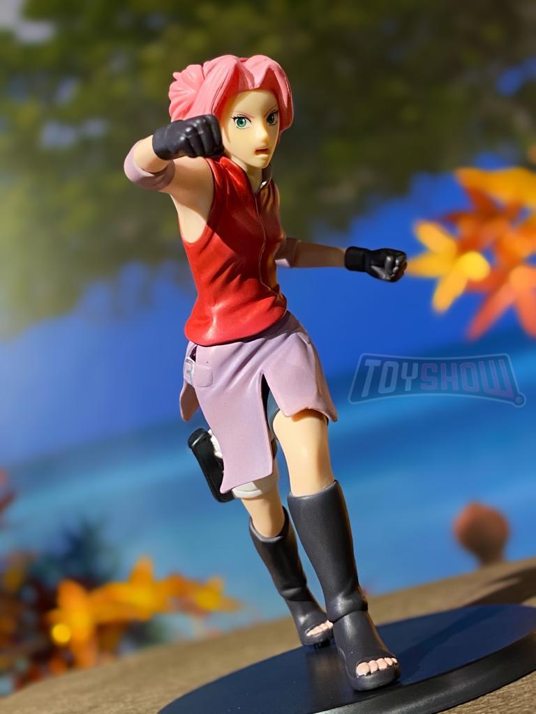 Estátua: Sakura Haruno - Standing Charecters (Naruto Shippuden) - Banpresto