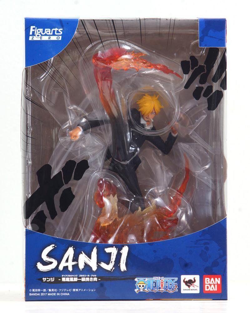 Estátua Sanji Diable Jambe: One Piece FiguartsZERO - Bandai - CD