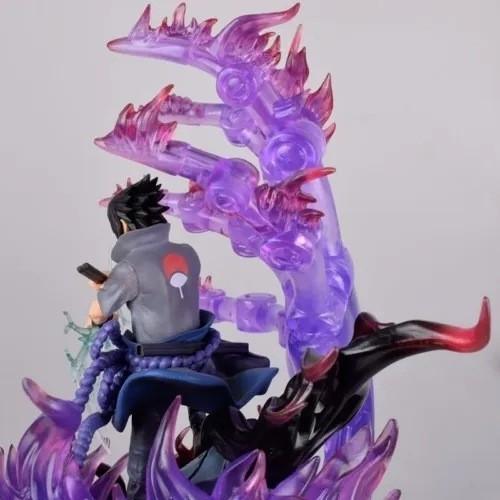 Estátua Sasuke Primeira Forma Susanoo: Naruto Shippuden - Azto Toys