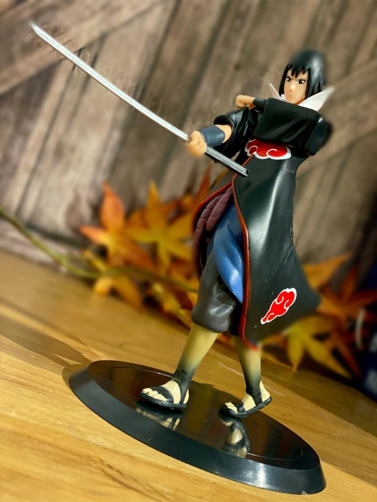 Estátua Sasuke Uchiha - Akatsuki: Naruto Shippuden