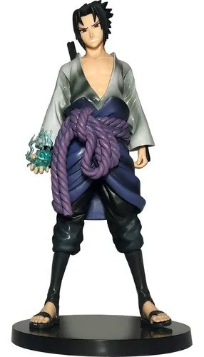 Estátua Sasuke Uchiha: Naruto Shippuden Anime Mangá