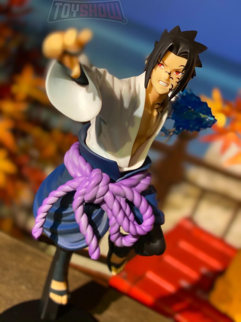 Estátua: Sasuke Uchiha - Vibration Stars (Naruto Shippuden) - Banpresto
