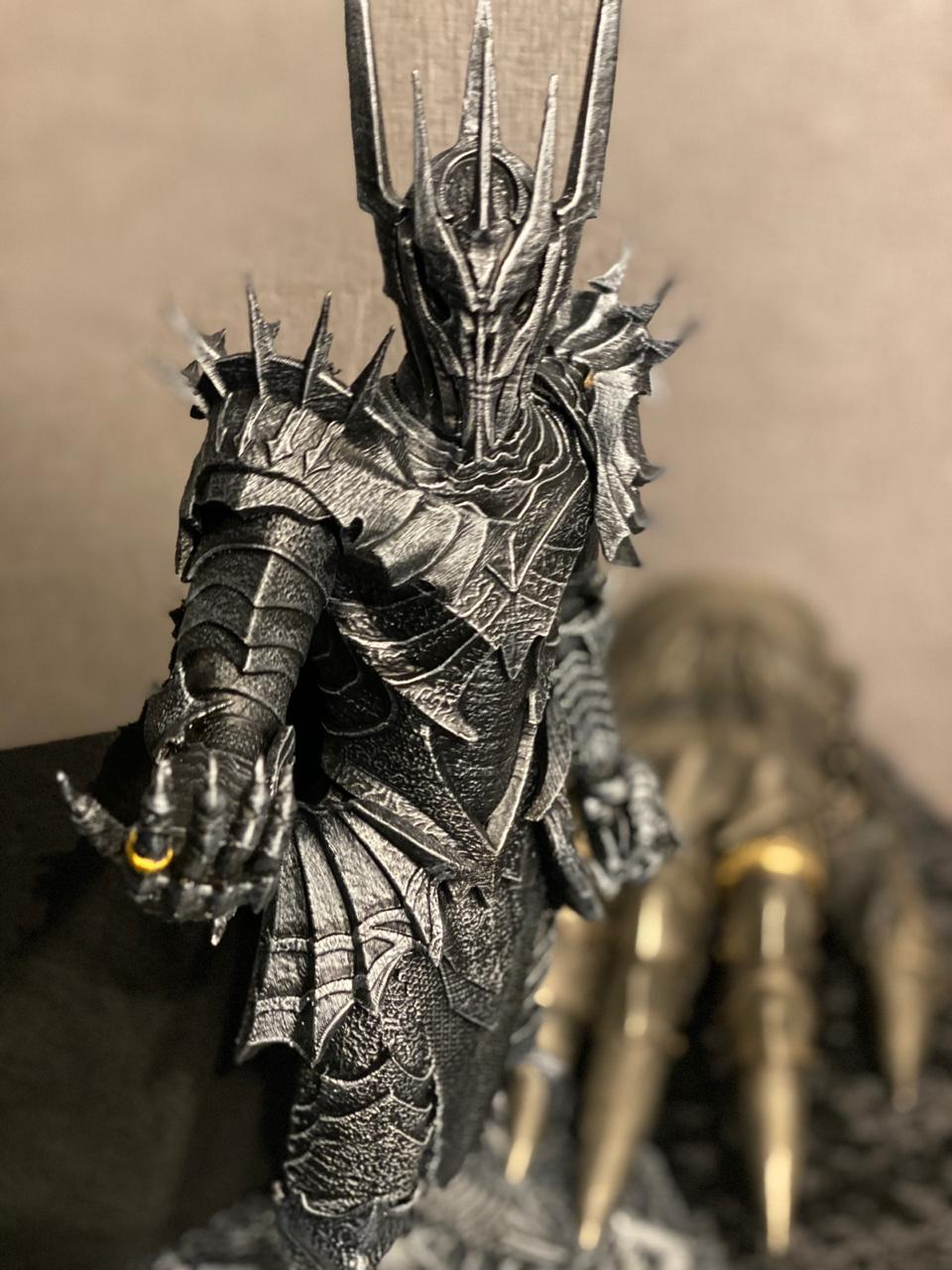 Estátua Sauron Premier Collection 1/6 Senhor Dos Anéis: Lord Of The Rings (38 CM) Fanatic Studio - EV
