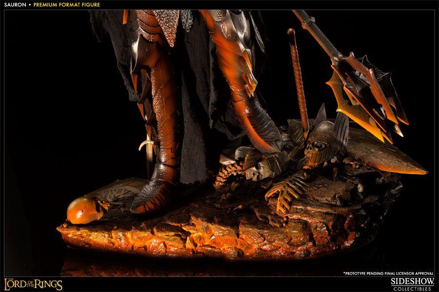 Estátua Sauron: Senhor dos Anéis (The Lord of the Rings) Premium Format - Sideshow - CG