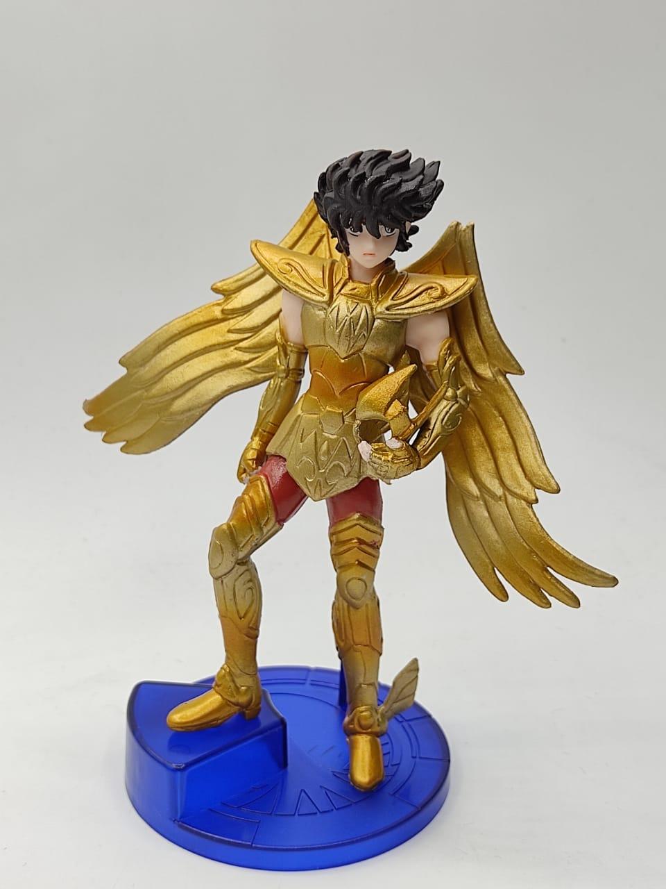 Estátua Seiya Armadura de Ouro de Sagitário: Cavaleiros do Zodíaco