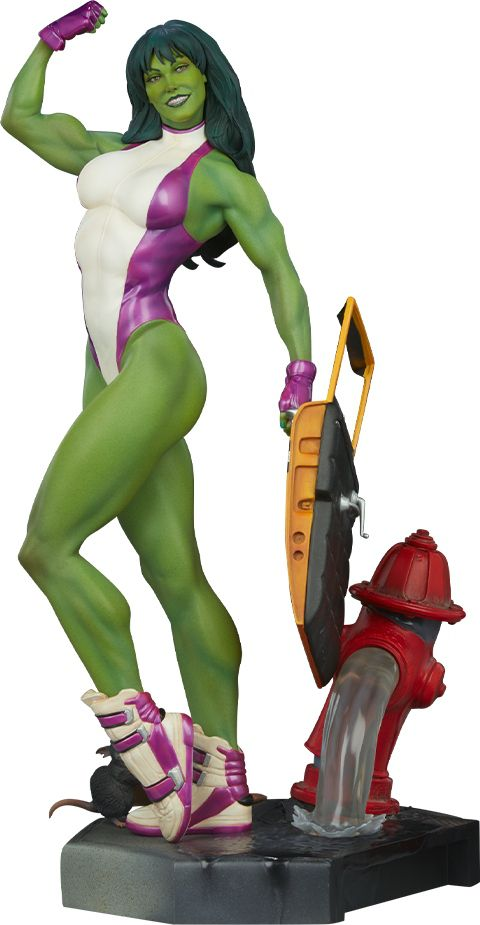 Estátua She-Hulk (Adi Granov): Marvel Collectibles (Escala 1/5) - Sideshow