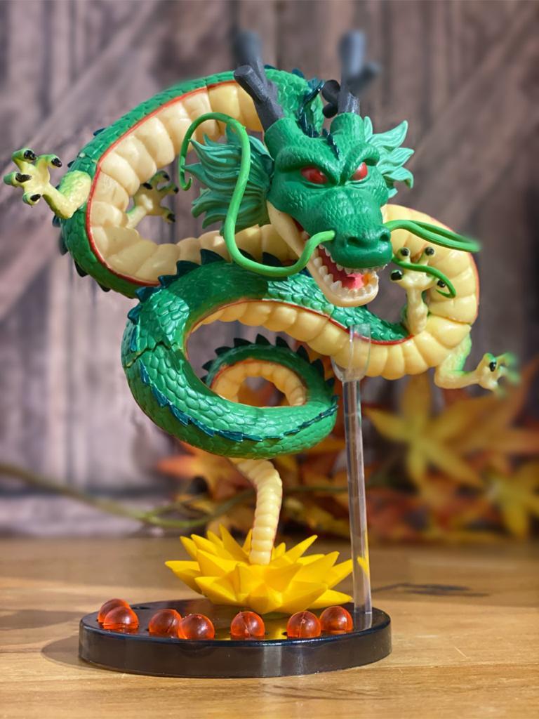 Estátua Shenlong: Esferas Do Dragão - Dragon Ball Z