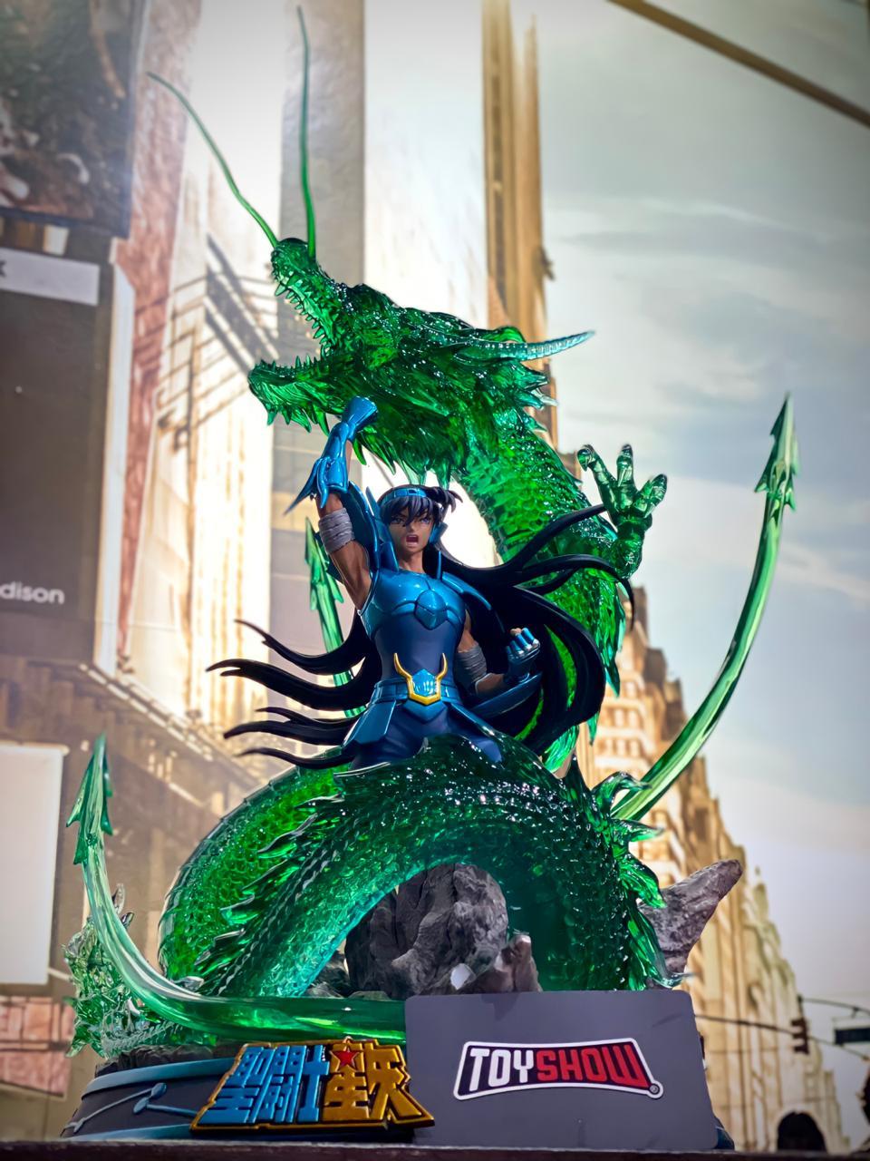 Estátua Shiryu de Dragão: Os Cavaleiros do Zodíaco - Saint Seiya Escala1/6 - Dawn Studio