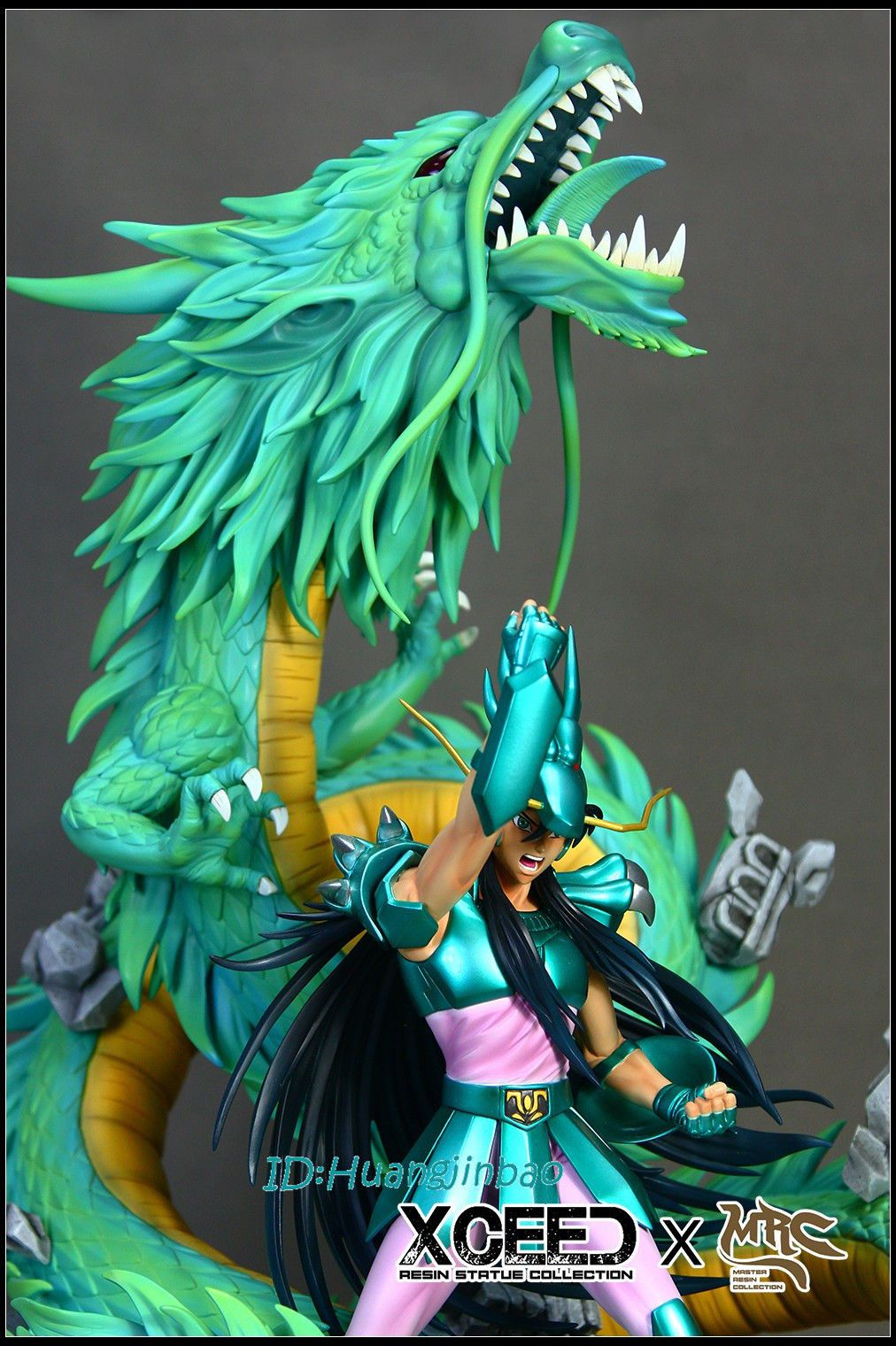 Estátua Shiryu de Dragão: Os Cavaleiros do Zodíaco (Saint Seiya) Escala1/6 - Xceed