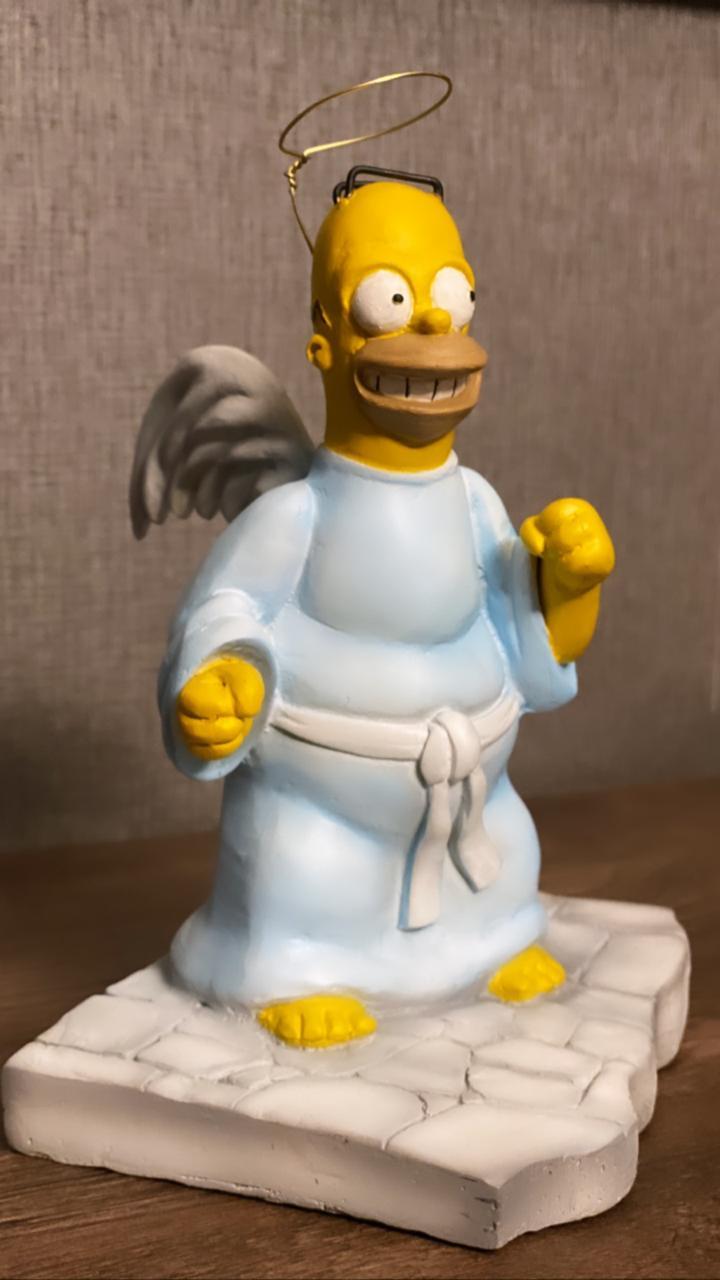 Estátua Simpsons Homer Angel (25 cm)