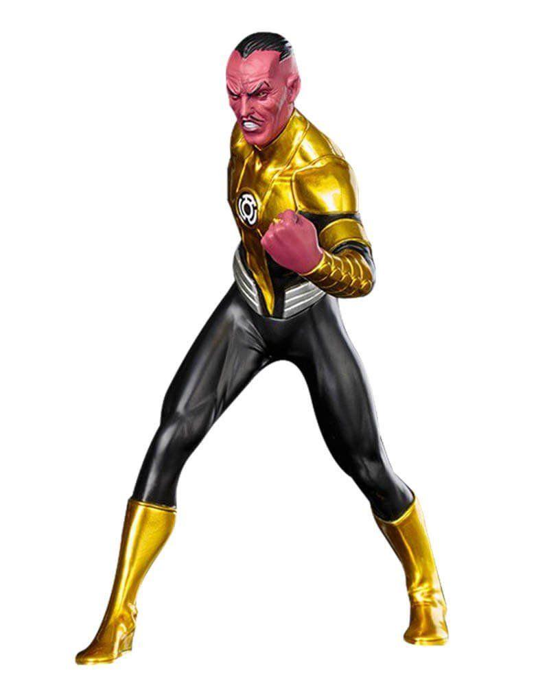 Estátua Sinestro: Os Novos 52 (New 52): DC Comics Artfx+ Statue Escala 1/10 - Kotobukiya - CD