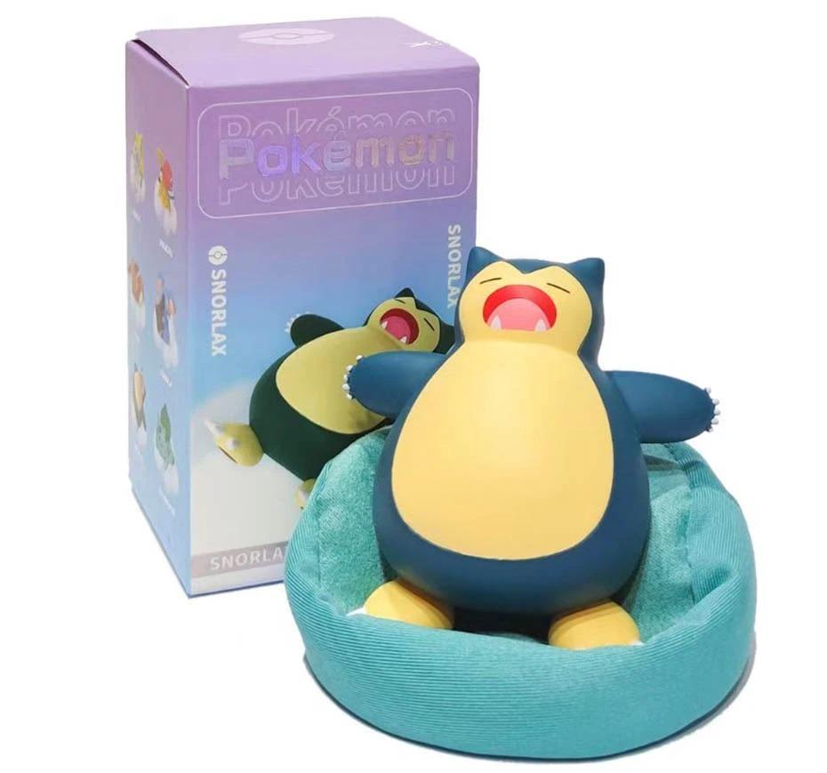 Estátua Snorlax Pokémon Série dos Sonhos Series Dream 7 cm - EVALI