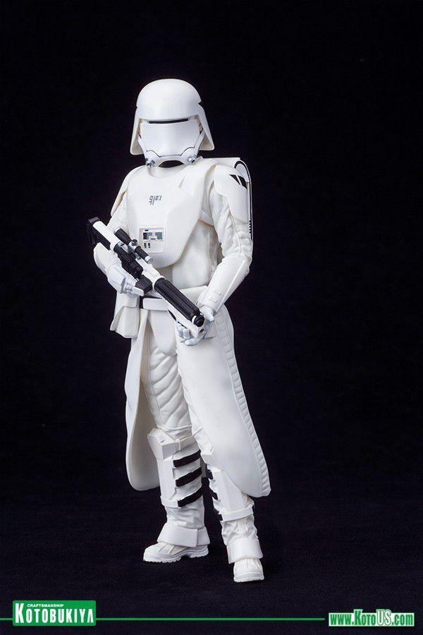 Estátua Snowtrooper e Flametrooper (First Order): Star Wars ArtFX+ Statue (2 Pack) Escala 1/10 - Kotobukiya