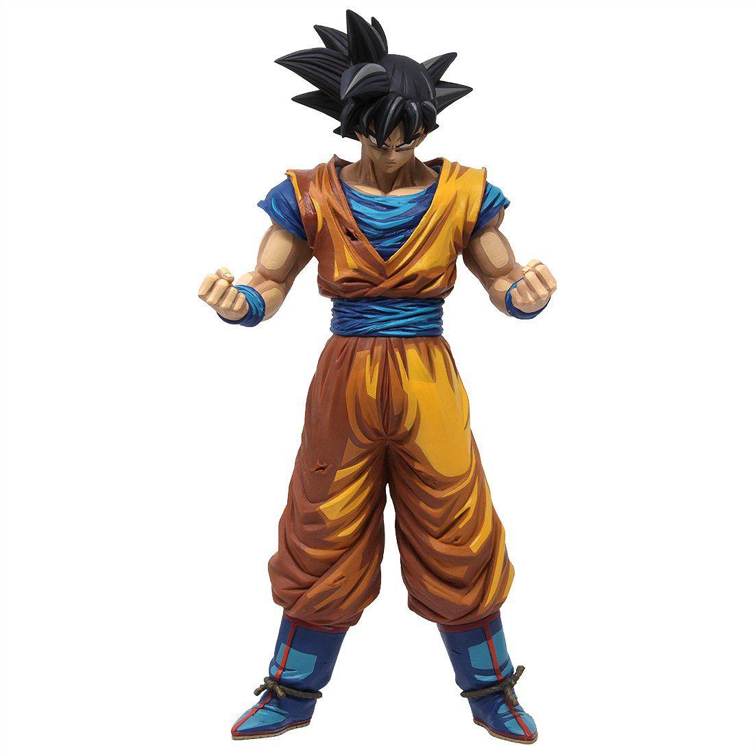 Estátua Son Goku 2 (Manga Dimensions): Dragon Ball Z (Grandista) - Banpresto