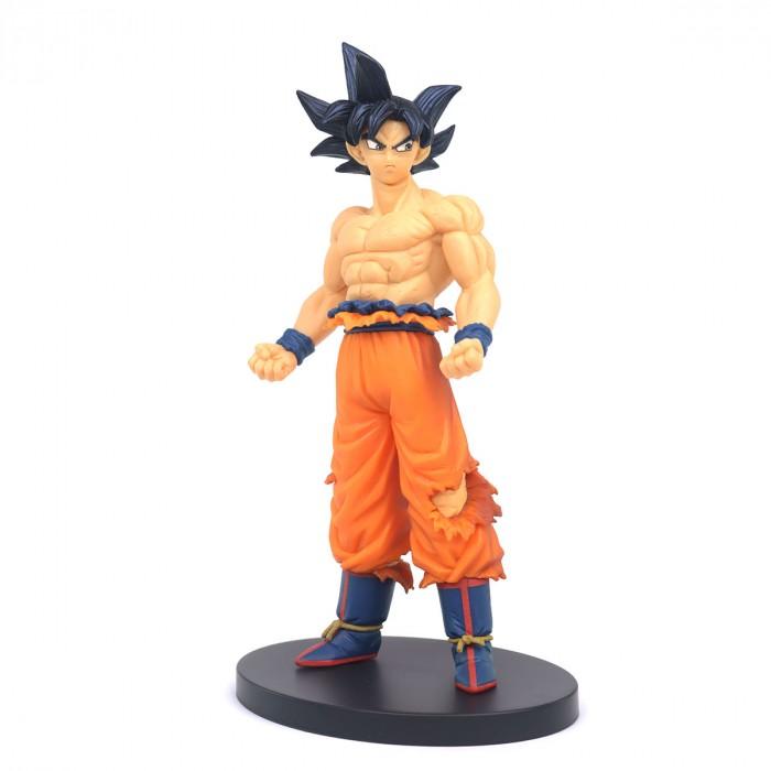 Estátua Son Goku Instinto Superior Incompleto: Dragon Ball Super Creator x Creator Anime Mangá - Banpresto Bandai