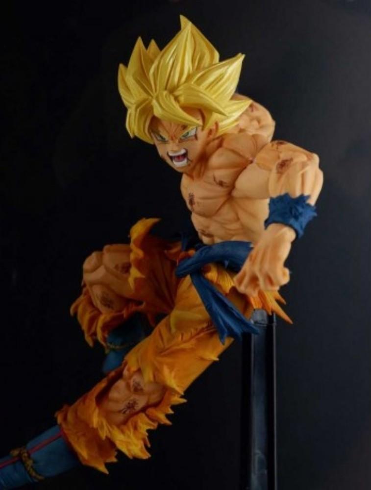 Estátua Son Goku Super Saiyan (Match Makers): Dragon Ball Z