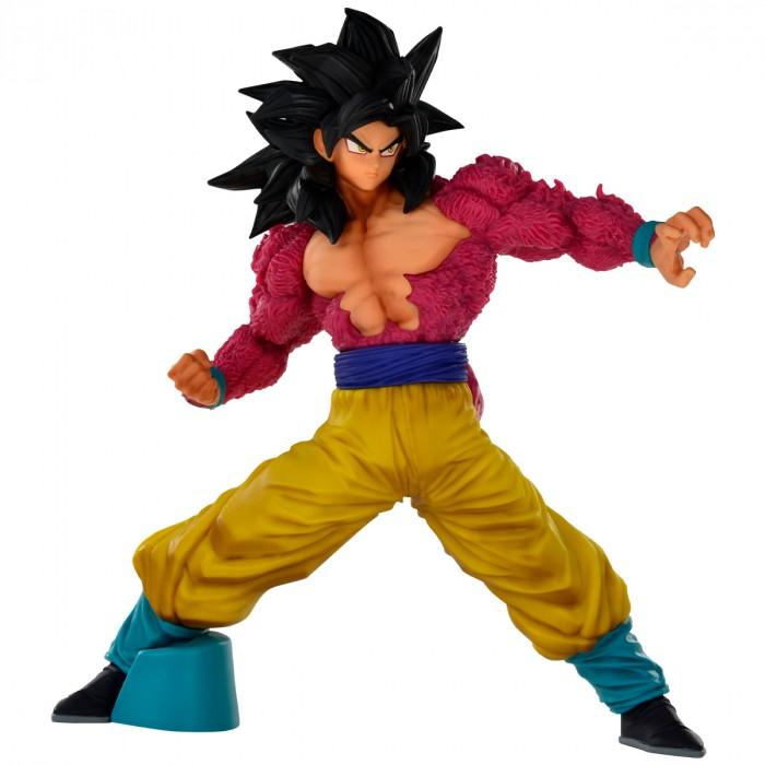 Estátua Son Goku Super Sayajin 4 Full Scratch: Dragon Ball GT Anime Mangá - Banpresto Bandai