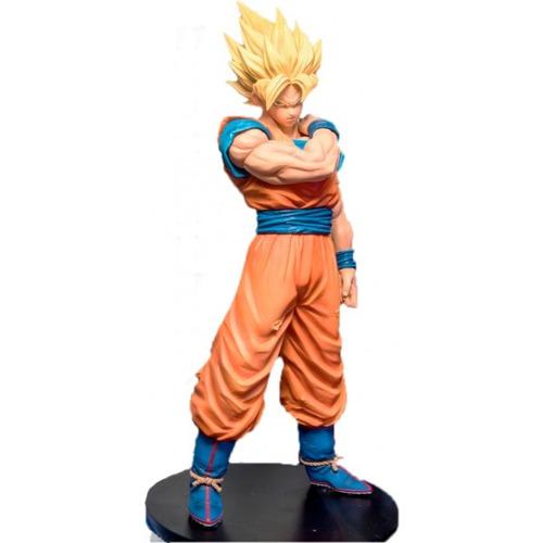 Estátua Son Goku Super Sayajin Dragon Ball Z Resolution Of Soldiers Vol.1 - Anime Mangá