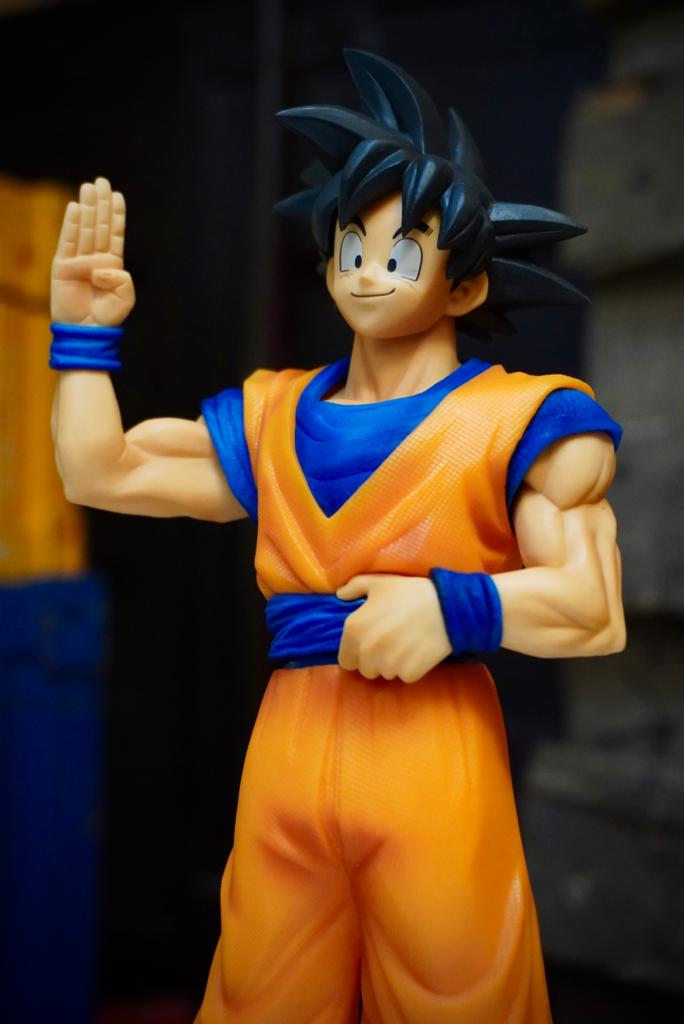 Estátua Son Goku Super Sayajin: Dragon Ball Zokei Ekiden Bandai - Banpresto