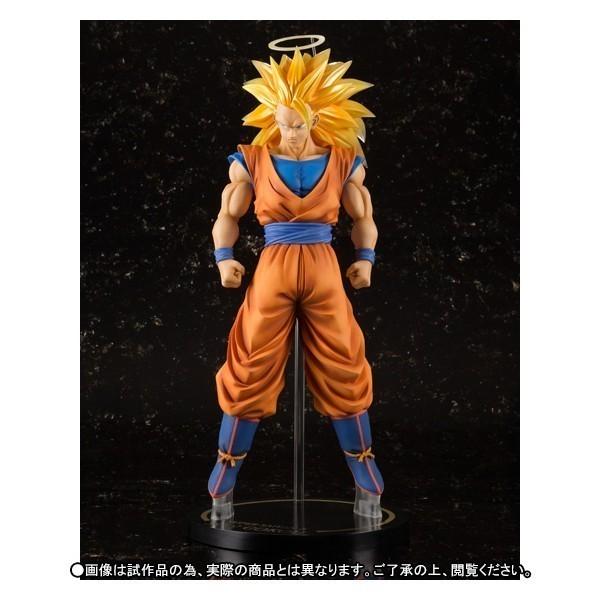 Estátua Son Goku Super Sayajin (Saiyan) 3: Dragon Ball Z FiguartsZERO EX Escala 1/6 - Bandai