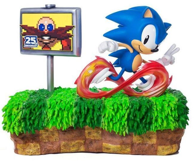 Estátua Sonic (The Hedgehog): Sonic 25th Anniversary - F4F