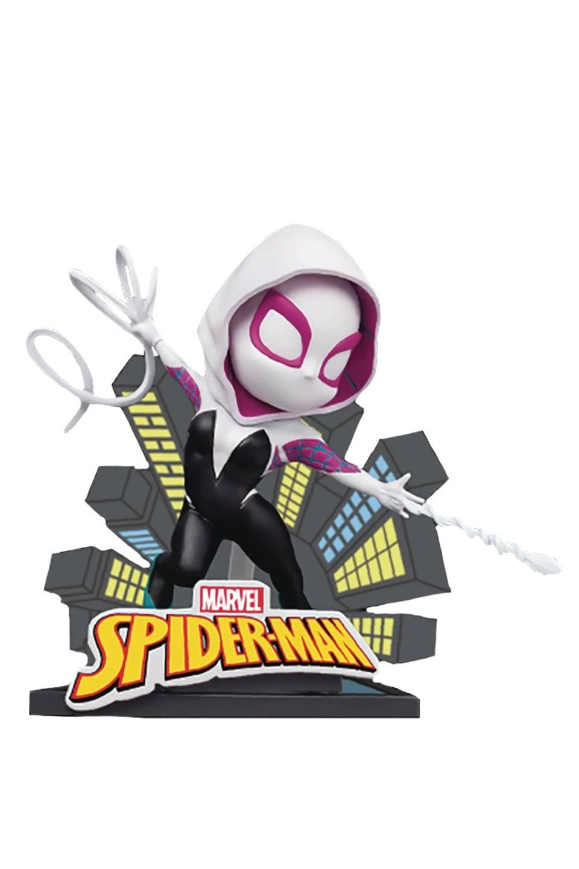 Estátua Spider Gwen: Marvel Mini Egg Attack - Beast Kingdom