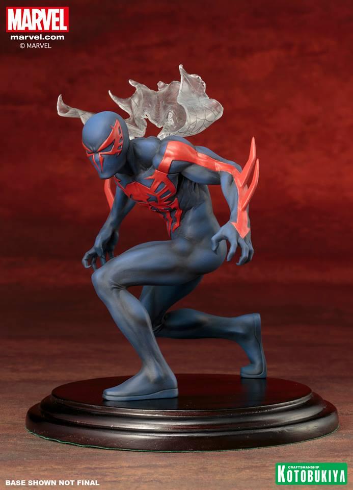 Estátua Spider-Man 2099: Homem-Aranha 2099 Marvel Now - Kotobukiya